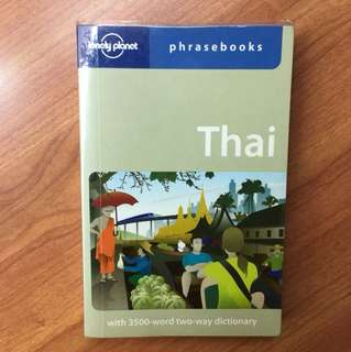 Thai-English lonely planet phasebook