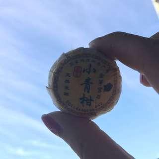 散裝小青柑3年皮,8年茶(3粒)
