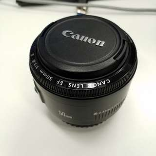 Used Canon 50mm f1.8 II