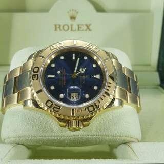 Rolex YM 16628 18K全金
