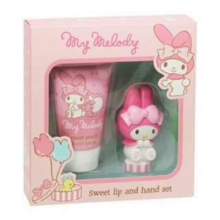 [BN] My Melody Sweet Lip And Hand Set