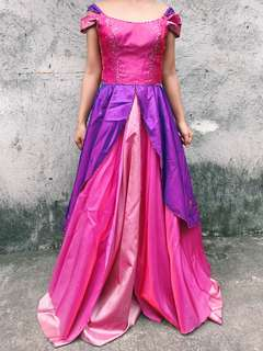 PINK / PURPLE BALL GOWN FOR RENT