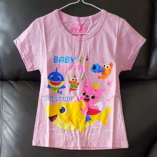 1for$6 Baby Shark Pink Tshirt