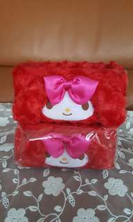 My Melody Red Fury Stationery Holder