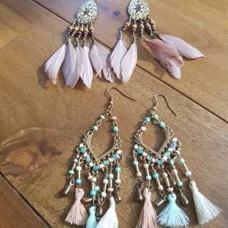 Buy 1, Take 1 Earrings with Bracelet Freebie
