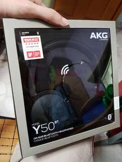 ANG Y50BT on Ear Bluetooth Wireless Headphones - Black