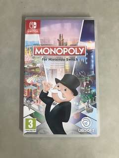 NINTENDO SWITCH MONOPOLY 大富翁US VERSION ( ZELDA MARIO )