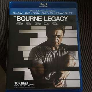 THE BOURNE LEGACY BLURAY REGION A
