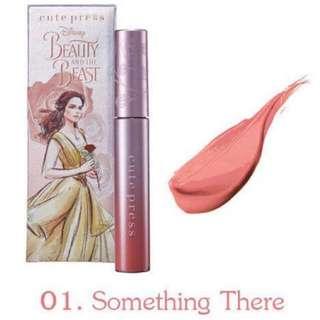 Cute Press Disney Beauty and The Beast Comfort Matte Nude Peach Pink Liquid Lipstick