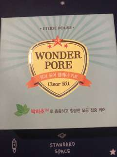 Etude House Wonder Pore Clear Kit