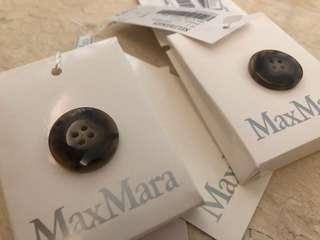 MAXMARA 褸鈕 配件