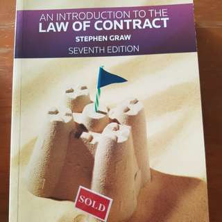 An Introduction To The LAW OF CONTRACT by Stephen Grew Seventh Edition