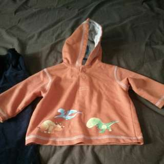 Baby Sweater Orange