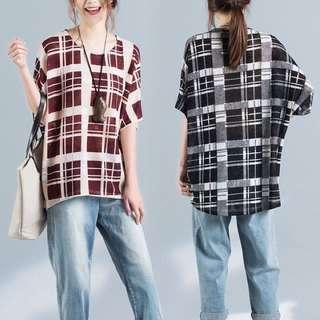 Plus Size Korean loose t-shirt women