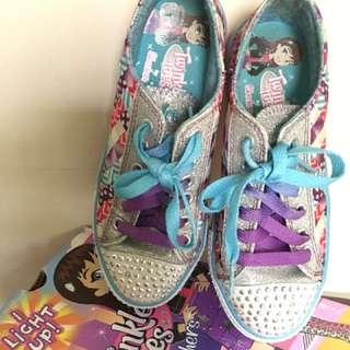 Teinkle Toes Light Up Shoes-Used twice