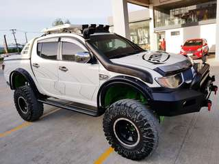 MITSUBISHI STRADA 4X4 M/T 2008 Model (MONSTER TRUCK SET-UP) - 735K Very Negotiable!