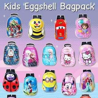 Eggshells kids backpack