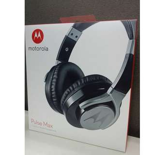 Brand new Motorola Pulse Max Headphones(never used)