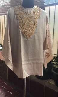 blouse bahan linen