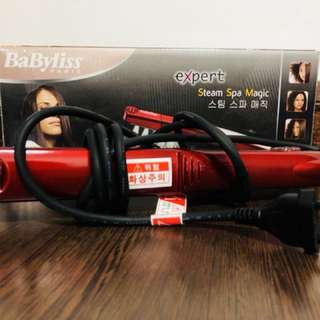 BabyLiss Steam Spa Hair Straightener