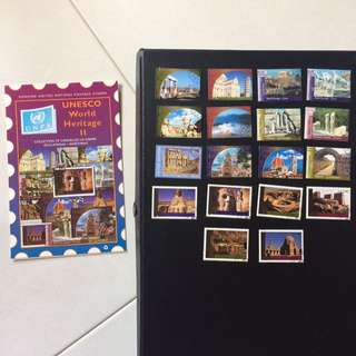 Stamps - Unesco World Heritage II (Set of 18 Stamps)