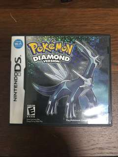 S> Pokemon Diamond Box only