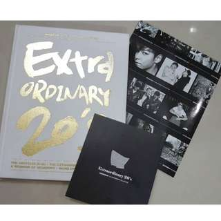 Big Bang 1st Photograph Collection - Extraordinary 20's (Photograph + Folded Poster) from Korea like new condition