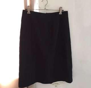 G2000 Black Office Skirt