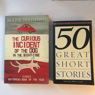 Great short stories & the curious incident of the dog in the night time