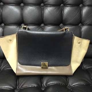 Celine Trapeze Bag, medium size