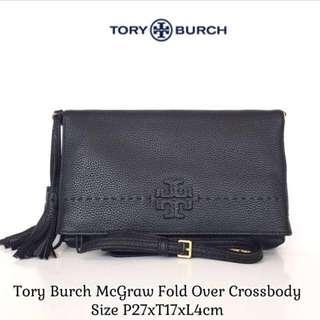 Tory Burch McGraw Fold Over Crossbody Original