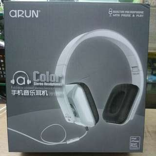 Color stereo headphone