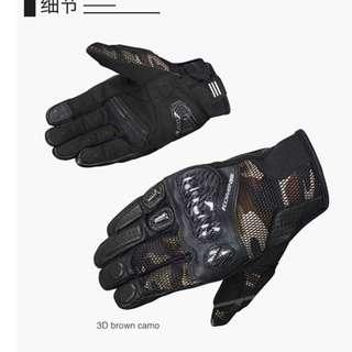 Komine GK197 GK-197 armoured gloves carbon fiber mesh touchscreen protection