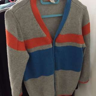 Sweater, Knitted cardigan
