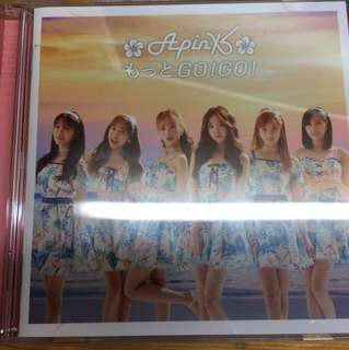 Apink summer gogo CD and DVD