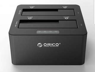 Orico 2 Bay HDD Duplicator USB3.0 with Clone