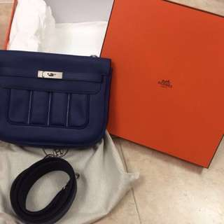 Hermes Berline28 Blue