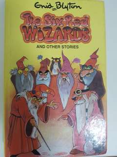 The Six Red Wizards by Enid Blyton