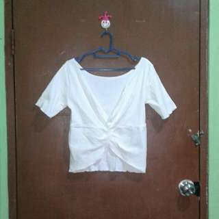 White Outer Top