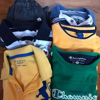 Bundle of Boys clothings (3-6yrs)