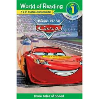 [Brand New] World of Reading Cars 3-In-1 Listen-Along Reader3 Tales of Adventure with CD!  By: Disney Book Group, Disney Storybook Art Team(Illustrator)
