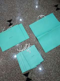 Tiffany & Co. Paper bags