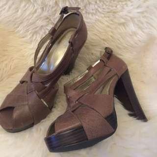 RMK Platform Heels size 6 1/2