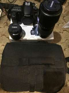 Canon EOS 60 D Komplit