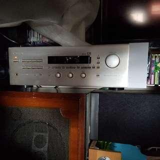 Nakamichi AV 10 AV amp  雖然機款好多現時模式都唔支援,不過用料十分好,聽歌有一定嘅質素,tone制需要清潔一下