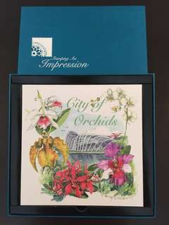 City of orchids stamps