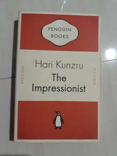Penguin books The Impressionist by Hari Kunzru