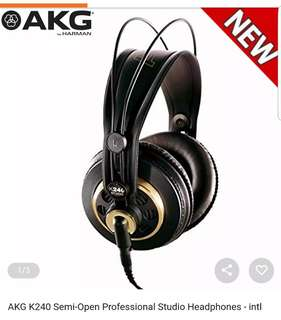 AKG Acoustics K240 Semi Pro Headphones