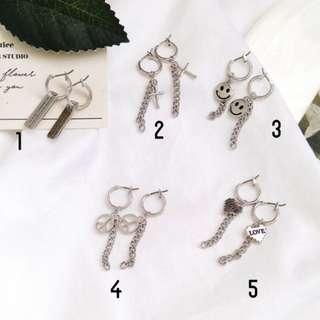 Kpop Idol Style Ring Earring / Ear Clip
