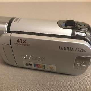 Canon Legria FS200E Camcorder